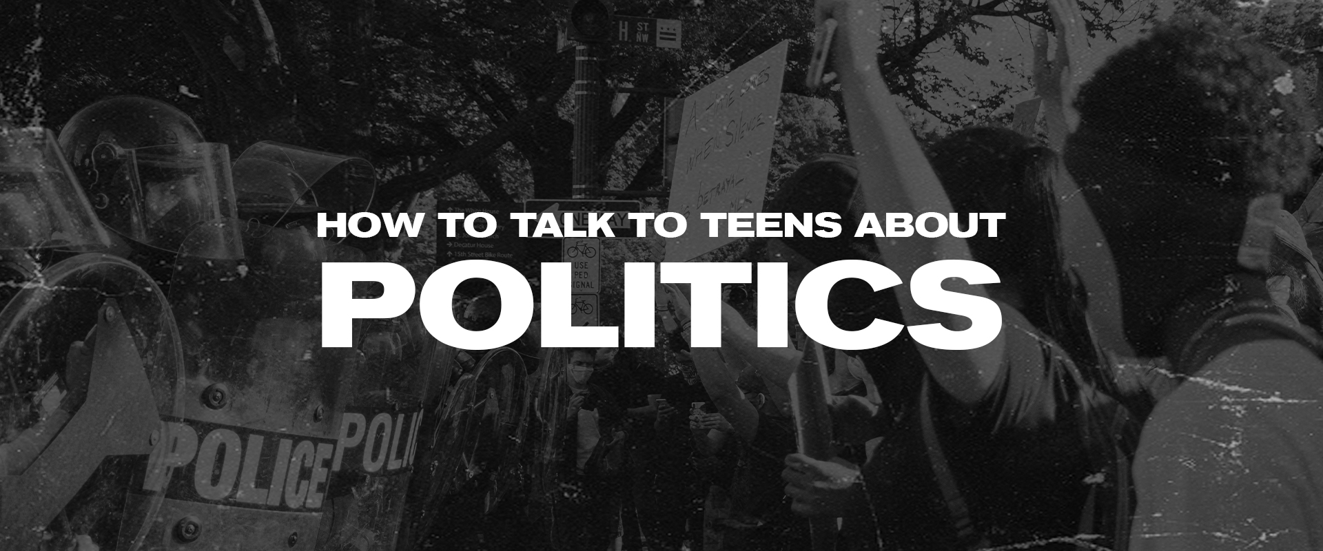 How To Talk To Teens About Politics